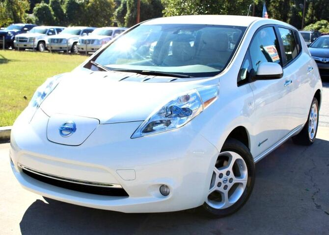 2012 Nissan Leaf Sv W Back Up Camera Satellite Lilburn Ga 26221937