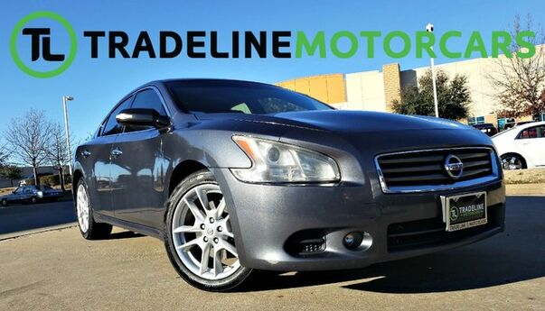 2012 Nissan Maxima 3.5 SV AUX, SUNROOF, LEATHER, AND MUCH MORE!!! CARROLLTON TX