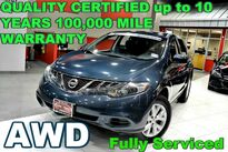 Nissan Murano S - FULLY SERVICED - QUALITY CERTIFIED W/up to 10 YEARS 100,000 MILES WARRANTY 2012