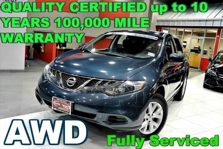 2012 Nissan Murano S - FULLY SERVICED - QUALITY CERTIFIED W/up to 10 YEARS 100,000 MILES WARRANTY Springfield NJ