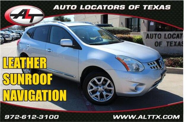 2012 Nissan Rogue SL with NAVIGATION and LEATHER Plano TX