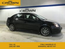 2012_Nissan_Sentra_SE-R **RARE** Navigation** Sunroof** Paddle Shifters** Spoiler** Gun Metal Alloys** Rockford Fosgate Sound System**_ Winnipeg MB