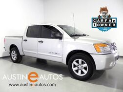 2012_Nissan_Titan Crew Cab SV_*REAR PARKING AID, FRONT BUCKET SEATS, STEERING WHEEL CONTROLS, ALLOY WHEELS, CRUISE, TOW PKG, BED LINER, BLUETOOTH PHONE_ Round Rock TX