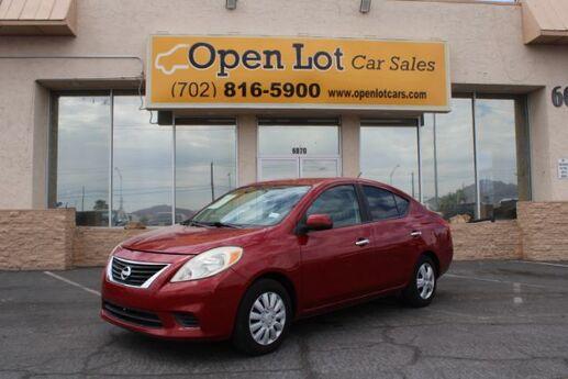 2012 Nissan Versa 1.6 S Sedan Las Vegas NV