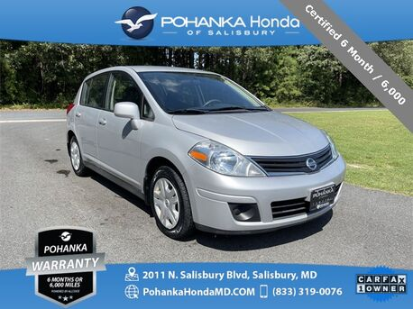 2012_Nissan_Versa_1.8 S ** Certified 6 Month / 6,000 **_ Salisbury MD
