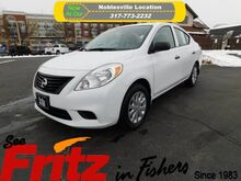 2012_Nissan_Versa_S_ Fishers IN