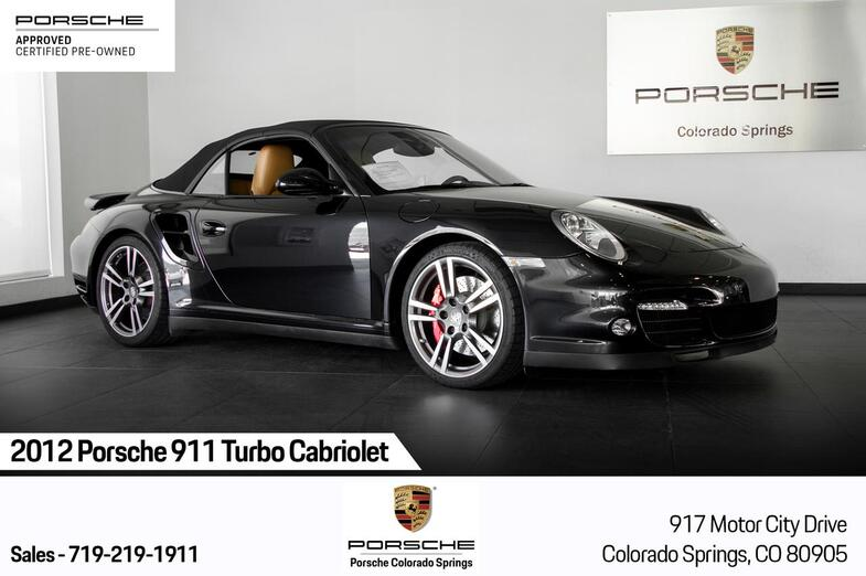 2012 Porsche 911 911 Turbo Cabriolet Colorado Springs CO
