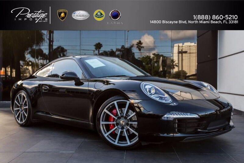 2012_Porsche_911_991 Carrera S_ North Miami Beach FL