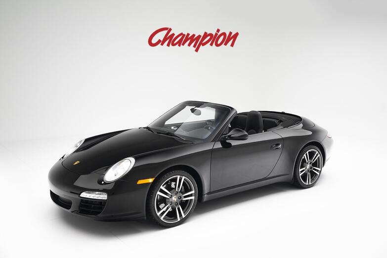 2012 Porsche 911 Black Edition Cab Pompano Beach FL