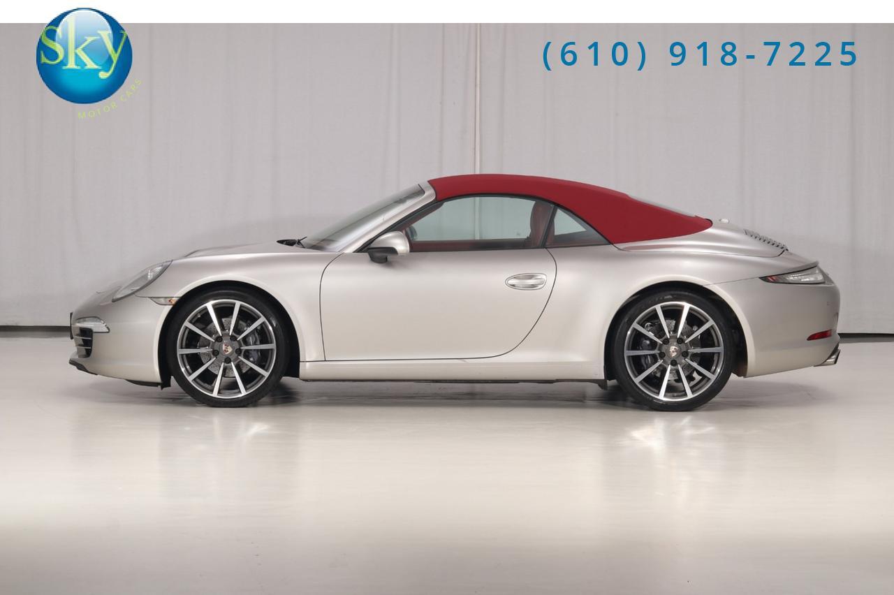 2012 Porsche 911 Cabriolet 991 Carrera West Chester PA