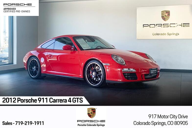 2012 Porsche 911 Carrera 4 GTS Colorado Springs CO
