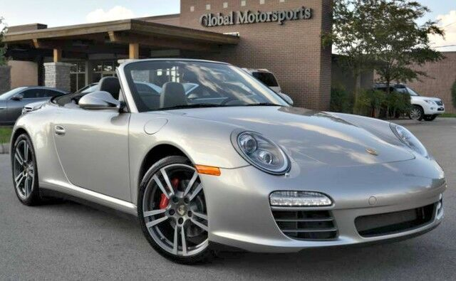 2012 Porsche 911 Carrera 4S Cabriolet/PDK/Premium Package w/ Heated & Ventilated Power Sport Seats/PCM w/ Navigation/Bose Audio Package/997 Turbo Wheels Nashville TN