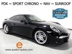 2012_Porsche_911 Coupe Carrera_*PDK, NAVIGATION, SPORT CHRONO PKG, TOUCH SCREEN, MOONROOF, LEATHER, CLIMATE SEATS, HEATED STEERING WHEEL, BOSE AUDIO, BLUETOOTH_ Round Rock TX