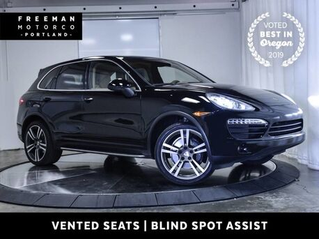 2012_Porsche_Cayenne_AWD Vented Seats Nav Back-Up Cam Blind Spot Asst_ Portland OR