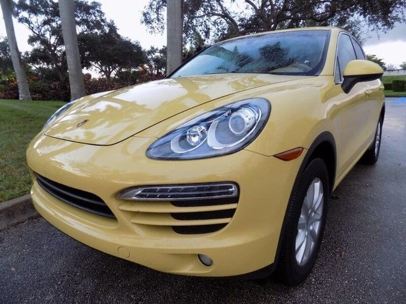 2012 Porsche Cayenne Base Hollywood FL