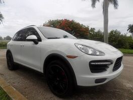 2012_Porsche_Cayenne_Turbo_ Dania Beach FL