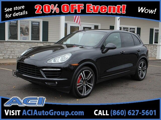 2012 Porsche Cayenne Turbo East Windsor CT