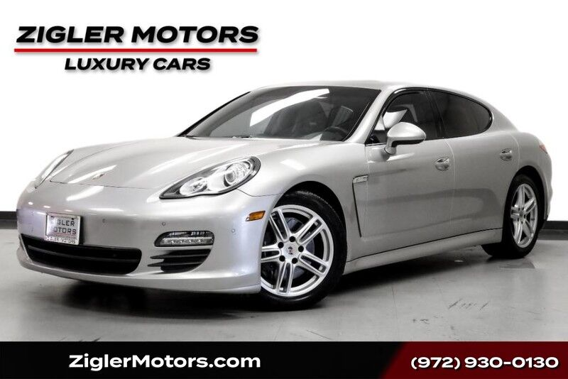 2012 Porsche Panamera Sport Chrono Package Plus 19 Turbo Wheels Low Miles Clean Carfax Addison TX