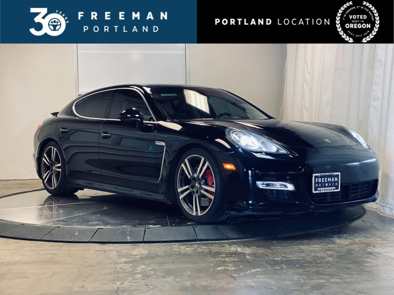2012 Porsche Panamera Turbo Adaptive Cruise Sport Chrono Vented Seats Portland OR