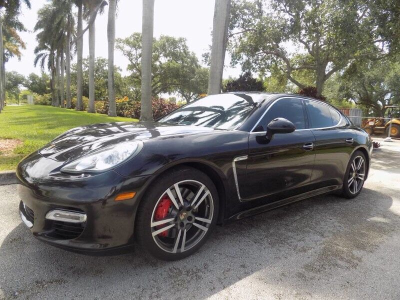 2012 Porsche Panamera Turbo Hollywood FL