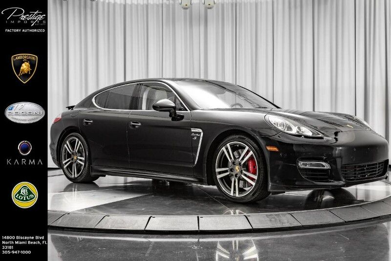 2012 Porsche Panamera Turbo S North Miami Beach FL