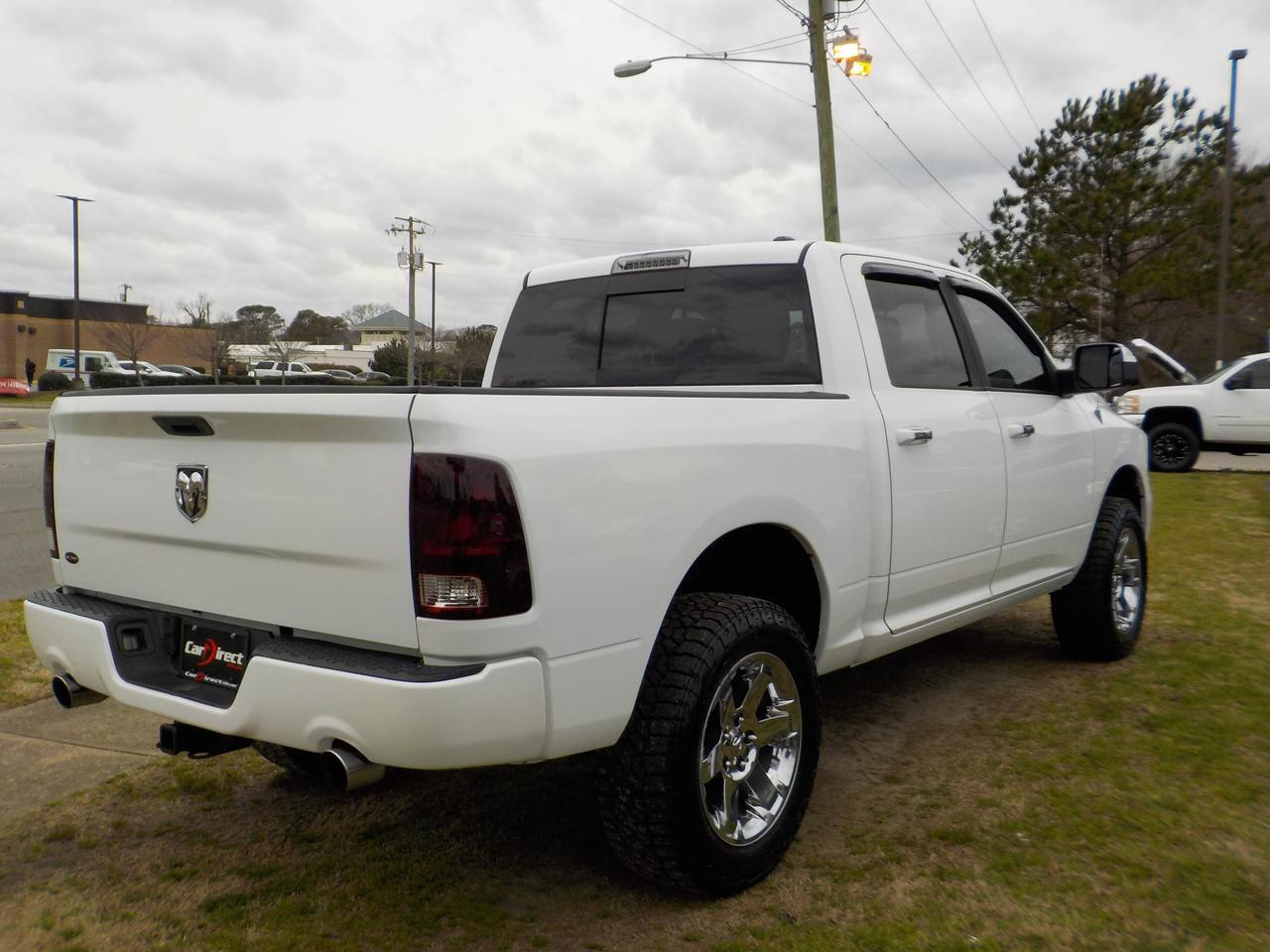2012 RAM 1500 SLT CREW CAB 4X4, WARRANTY, SIRIUS RADIO, TINTED WINDOWS, TOW, BLUETOOTH, BED LINER, UCONNECT! Virginia Beach VA