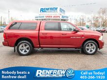 2012_Ram_1500_4WD Sport, Sunroof, Remote Start, Backup Camera, Bluetooth, SiriusXM_ Calgary AB