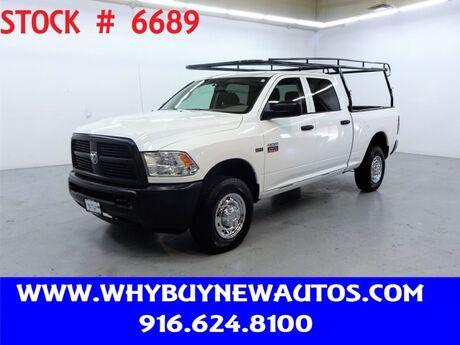 2012 Ram 2500 ~ 4x4 ~ Crew Cab ~ Only 59K Miles! Rocklin CA