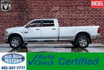 2012_Ram_2500_4x4 Crew Cab Laramie Longbox Diesel Leather Roof Nav_ Red Deer AB