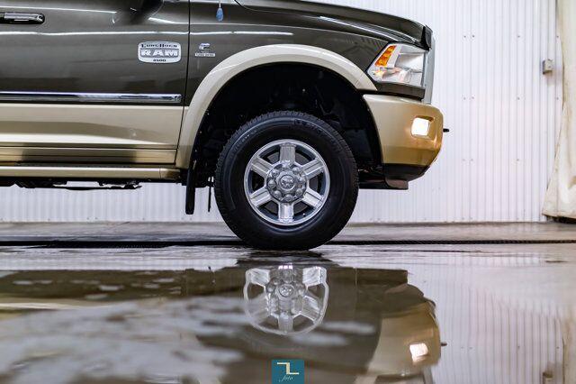 2012 Ram 3500 4x4 Crew Cab Longhorn Diesel Leather Nav BCam Red Deer AB