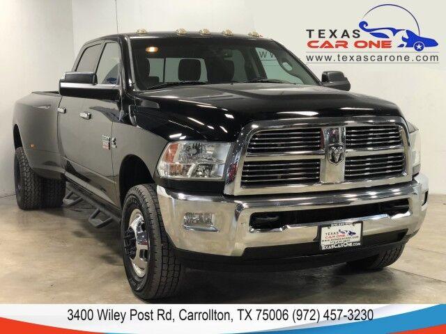 2012 Ram 3500 BIG HORN CREW CAB LWB 4WD DRW 6.7L DIESEL AUTOMATIC 5TH WHEEL HI Carrollton TX