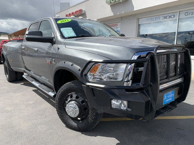 2012 Ram 3500 CREW CAB DUALLY Big Horn Spearfish SD