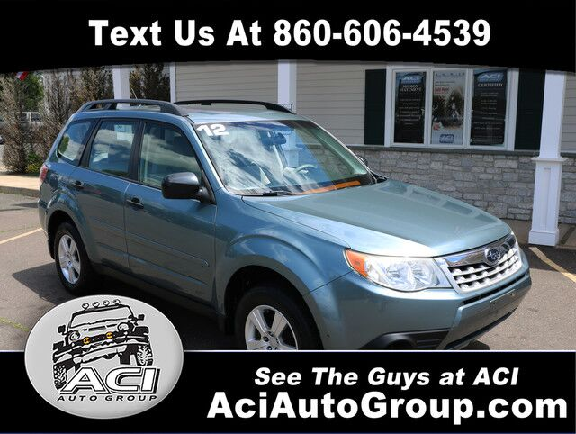 2012 Subaru Forester 2.5X East Windsor CT