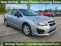 2012 Subaru Impreza Sedan 2.0i South Burlington VT