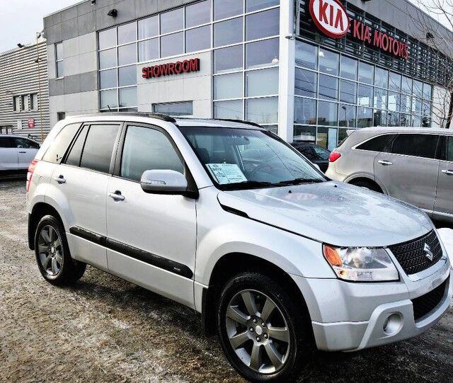 2012 Suzuki Grand Vitara JLX-L AWD 2.4L *HEATED LEATHER SEATS/BLUETOOTH/SUNROOF* Edmonton AB