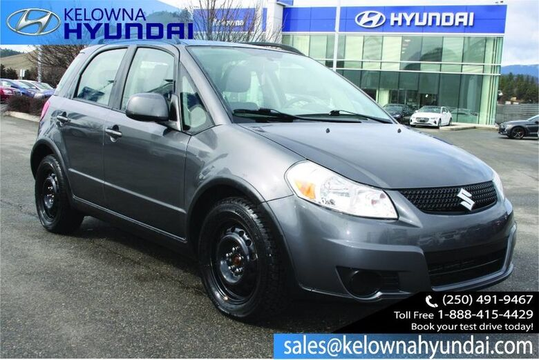 2012 Suzuki SX4 Hatchback JX 4x4 No accident one owner Kelowna BC