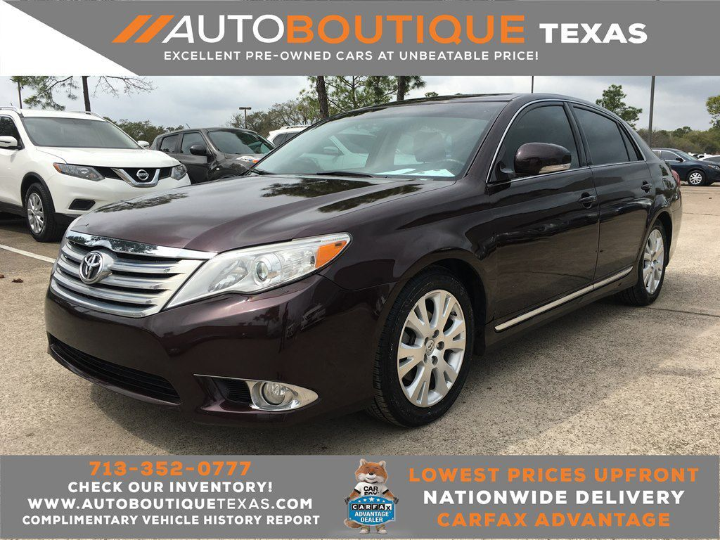 2012 TOYOTA AVALON LIMITED Limited Houston TX