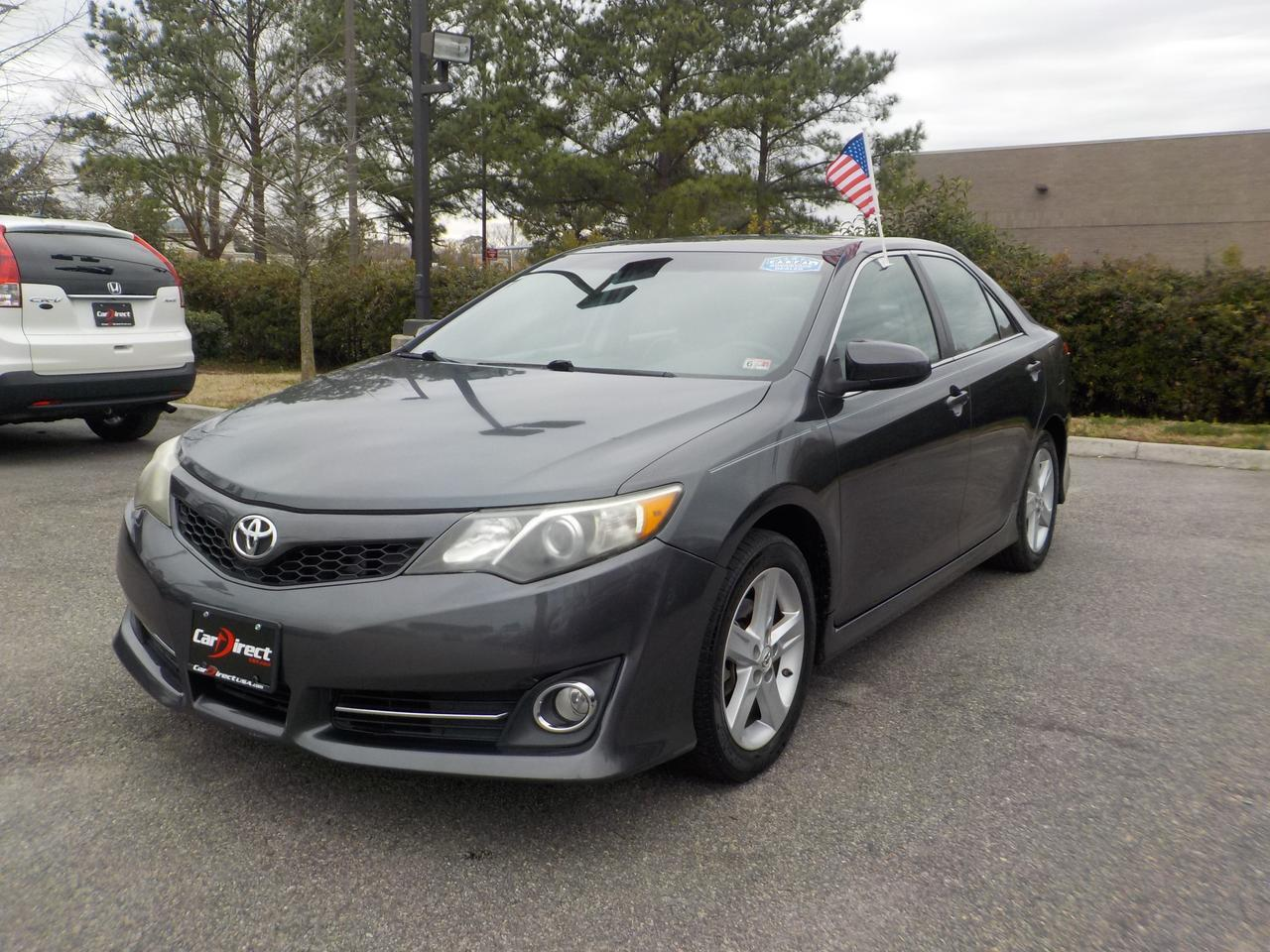 2012 TOYOTA CAMRY SE FWD, BLUETOOTH WIRELESS, WELL MAINTIANED, VERY CLEAN! Virginia Beach VA