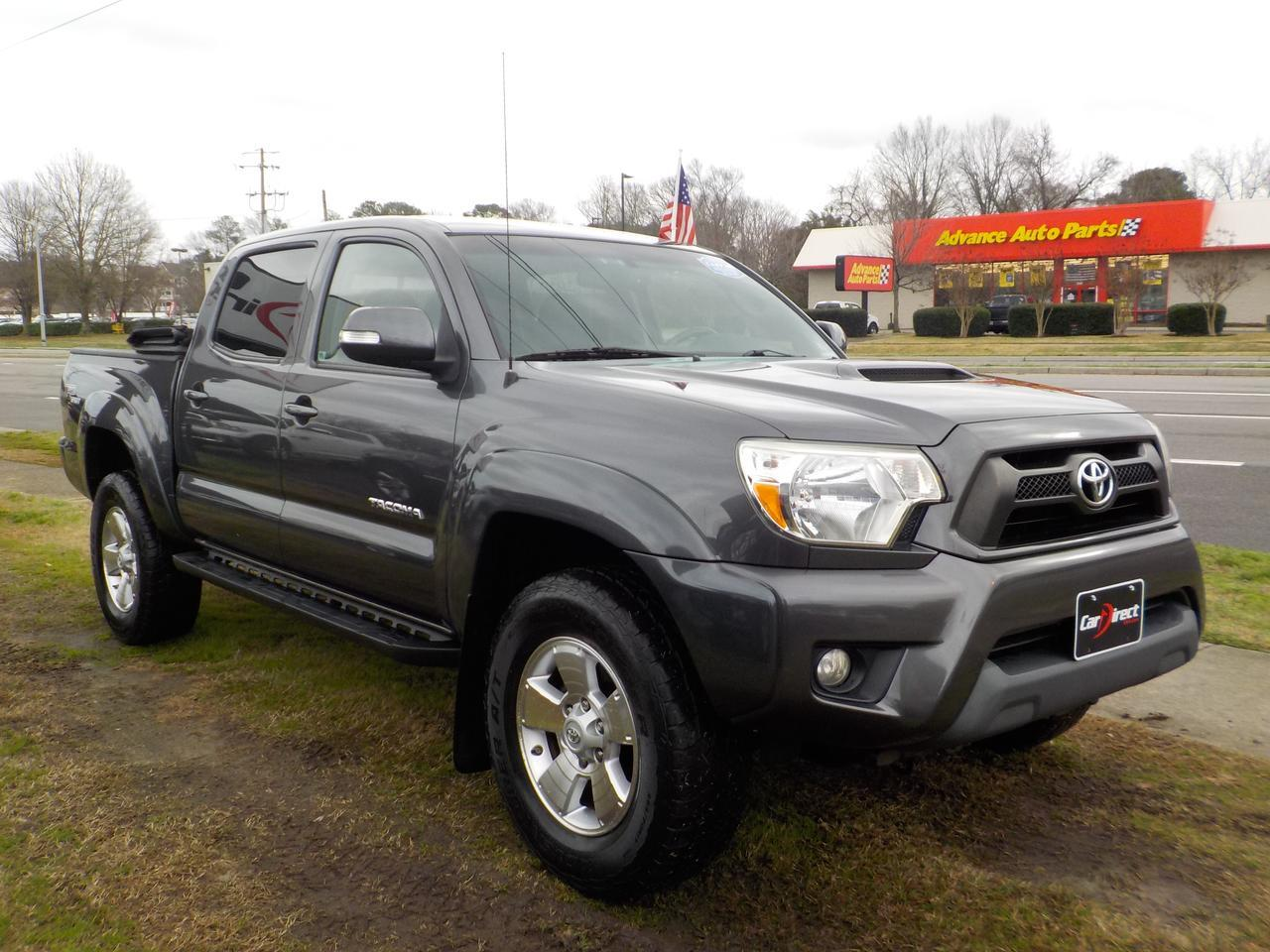 2012 TOYOTA TACOMA TRD SPORT DOUBLE CAB 4X4, WARRANTY, SOFT TONNEAU COVER, RUNNING BOARDS, KEYLESS ENTRY, TOW PACKAGE! Virginia Beach VA