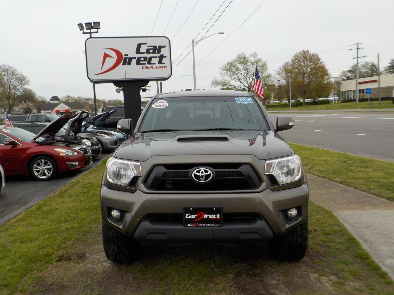 2012 TOYOTA TACOMA TRD SPORT DOUBLE CAB LONG BED 4X4, WARRANTY, BACKUP CAMERA,  BLUETOOTH, TOW, KEYLESS ENTRY, AUX PORT Virginia Beach VA