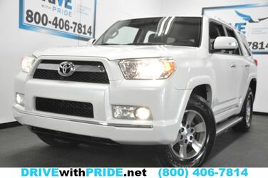 Toyota 4Runner SR5 93K 1 OWN REAR CAM BLUETOOTH RUNBOARDS TOWING ALLOYS 2012