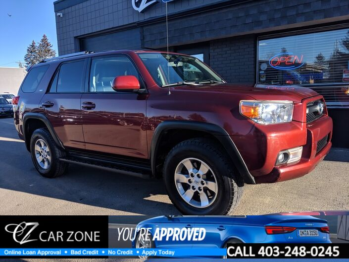 2012 Toyota 4Runner SR5 Leather Sunroof Backup Easy Loan Approval Calgary AB