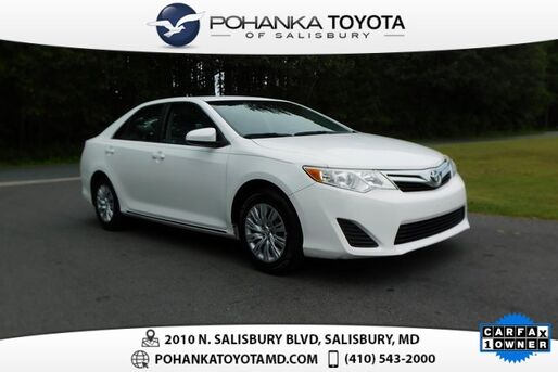 2012_Toyota_Camry_LE_ Salisbury MD