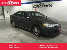 2012_Toyota_Camry_LE Upgrade Pkg / One Owner / Local / Great Condition / Navigation_ Winnipeg MB