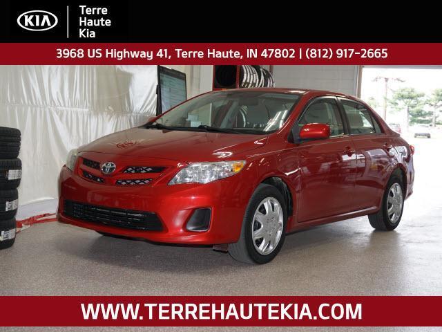 2012 Toyota Corolla 4dr Sdn Auto LE Terre Haute IN