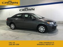 2012_Toyota_Corolla_CE **Low Kms** Power Windows** Heated Seats** Cruise Control** Air Conditioning**_ Winnipeg MB