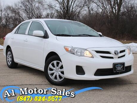 2012 Toyota Corolla L 5-Speed 1 Owner Schaumburg IL