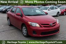 2012 Toyota Corolla L South Burlington VT