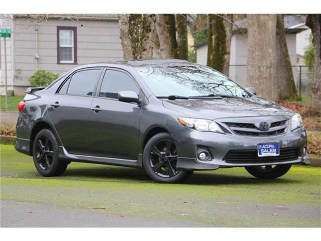 2012 Toyota Corolla S Sedan Salem OR