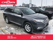 2012_Toyota_Highlander_4WD / Low Kms / Great Condition / Drives Like New / Best Value I_ Winnipeg MB
